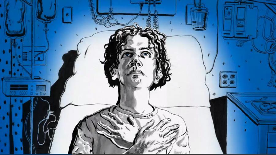 Animowany Jack White w klipie do \