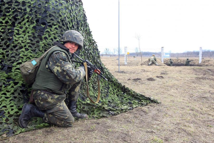Wspólne polsko-ukraińskie ćwiczenia wojskowe. Zdjęcie z 2008 roku