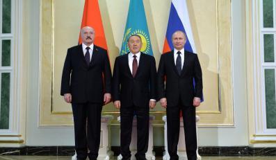 Aleksander Łukaszenka, Nursułtan Nazarbajew i Władimir Putin