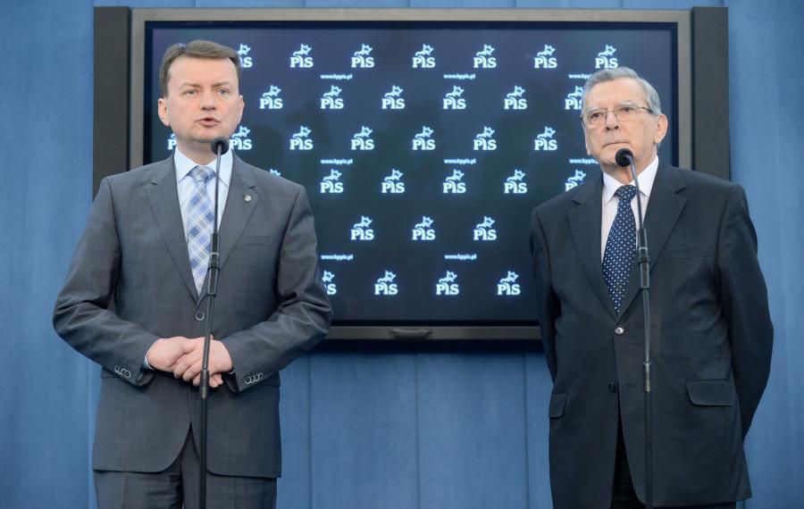 Mariusz Błaszczak i Andrzej Smirnow