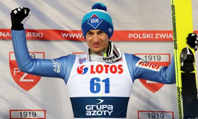 Tak Kamil Stoch pobił rekord na Wielkiej Krokwi i został mistrzem Polski. ZDJĘCIA