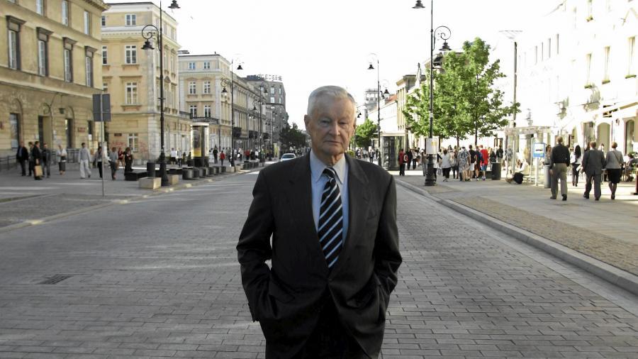 Zbigniew Brzeziński, politolog i były doradca prezydenta USA Jimmy\'ego Cartera