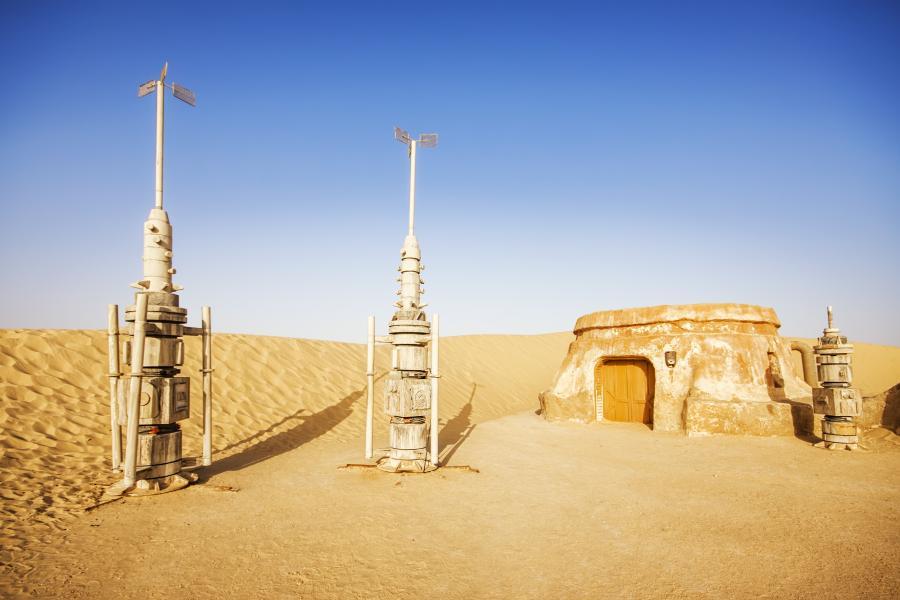 Miejsce, gdzie kręcono Gwiezdne Wojny