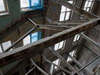Zrujnowany wieżowiec Prudential od środka. Niezwykła wyprawa fotoblogera. ZDJĘCIA