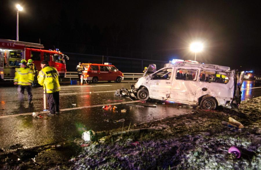 Wypadek polskiego busa w Niemczech