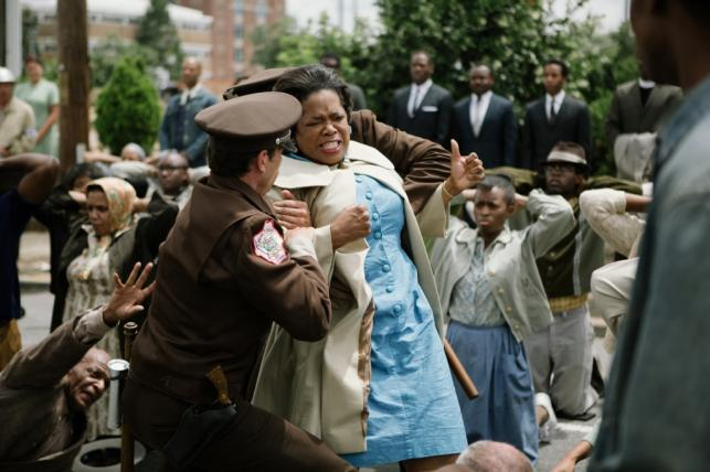 "Oprah Winfrey i Lee Cooper w filmie ""Selma"""