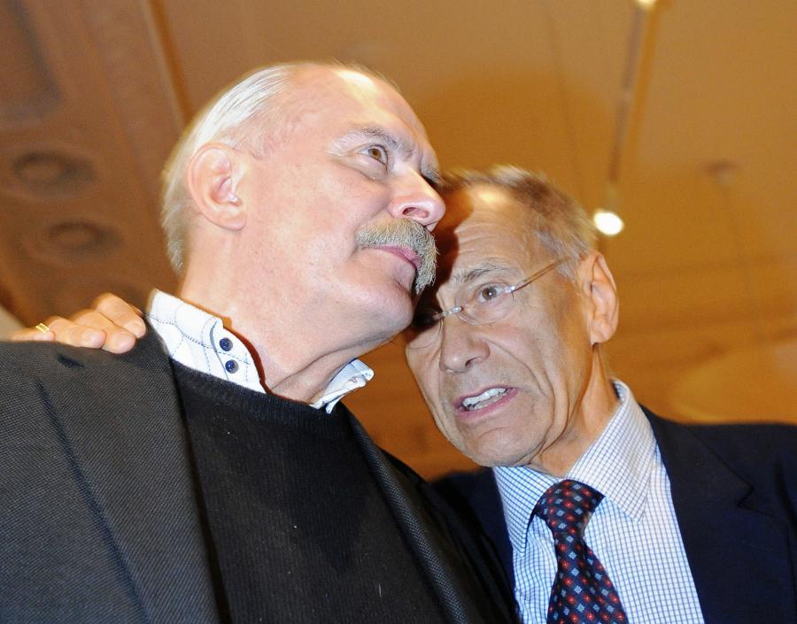 Nikita Michałkow i Andriej Konczałowski