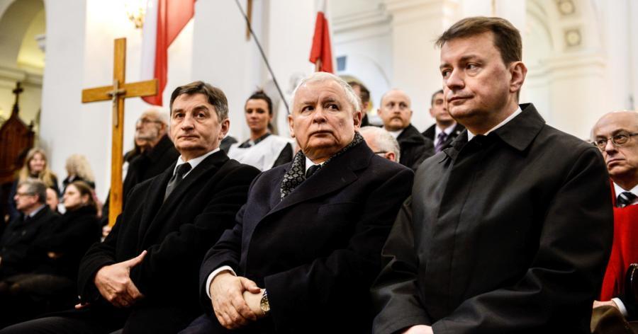 Jarosław Kaczyński na uroczystościach w piątą rocznicę katastrofy smoleńskiej