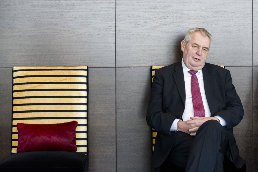 Milosz Zeman, prezydent Czech