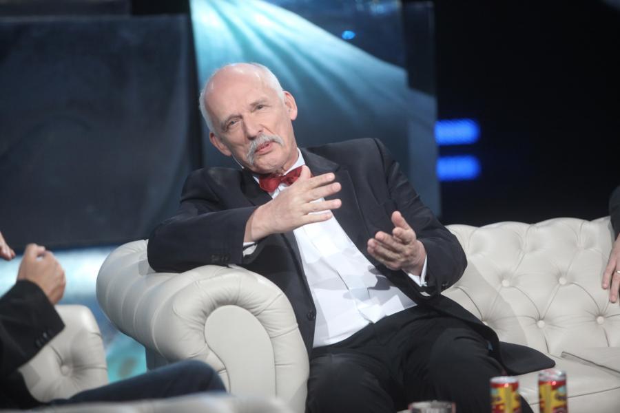 Janusz Korwin-Mikke w programie \