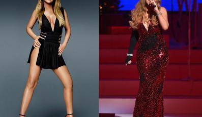 Mariah Carey z okładki i w realu
