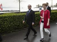 Prezydent Szwajcarii w stylizacji, która nie powinna się zdarzyć