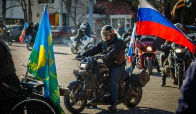 Nocne Wilki: rosyjscy motocykliści w Sewastopolu