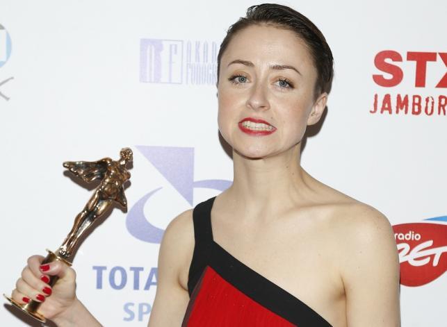 Natalia Przybysz na Fryderykach 2015