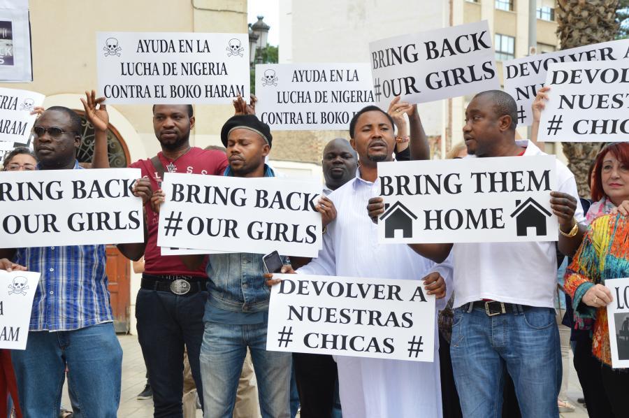 O uwolnienie porwanych dziewcząt apelował cały świat