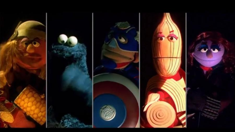 Avengersi na ulicy sezamkowej