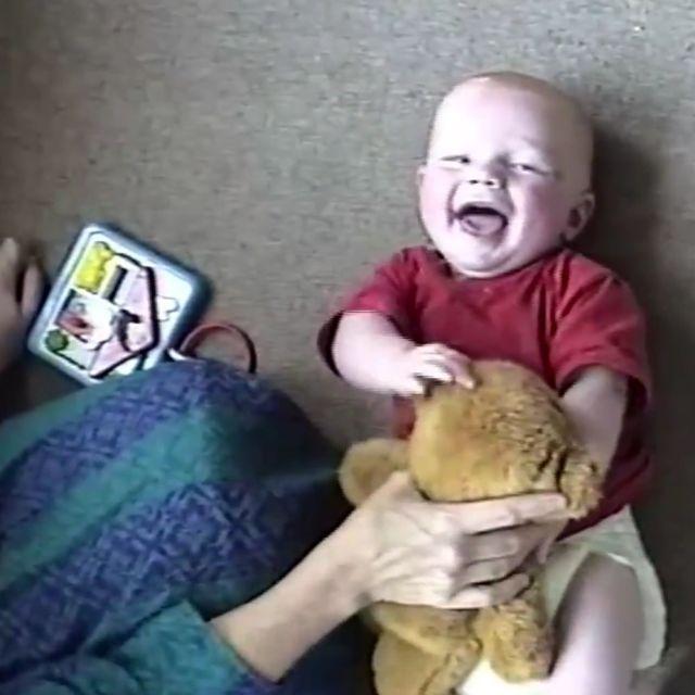 Ed Sheeran, gdy był słodkim bobasem