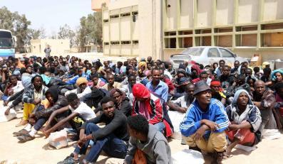 Libia: Nielegalni imigranci