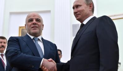 Władimir Putin i Hajder al-Abadi
