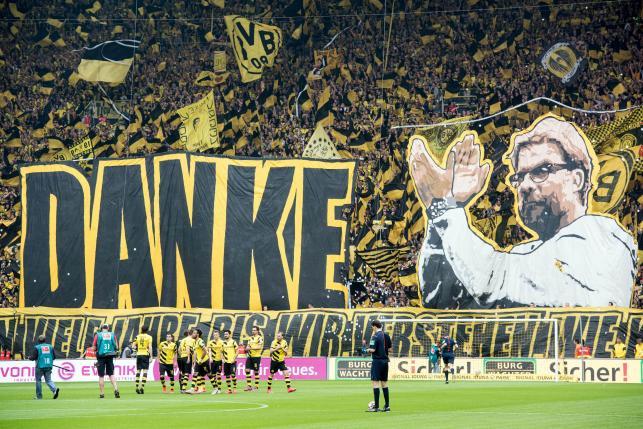 Tak kibice Borussii Dortmund żegnali Juergena Kloppa