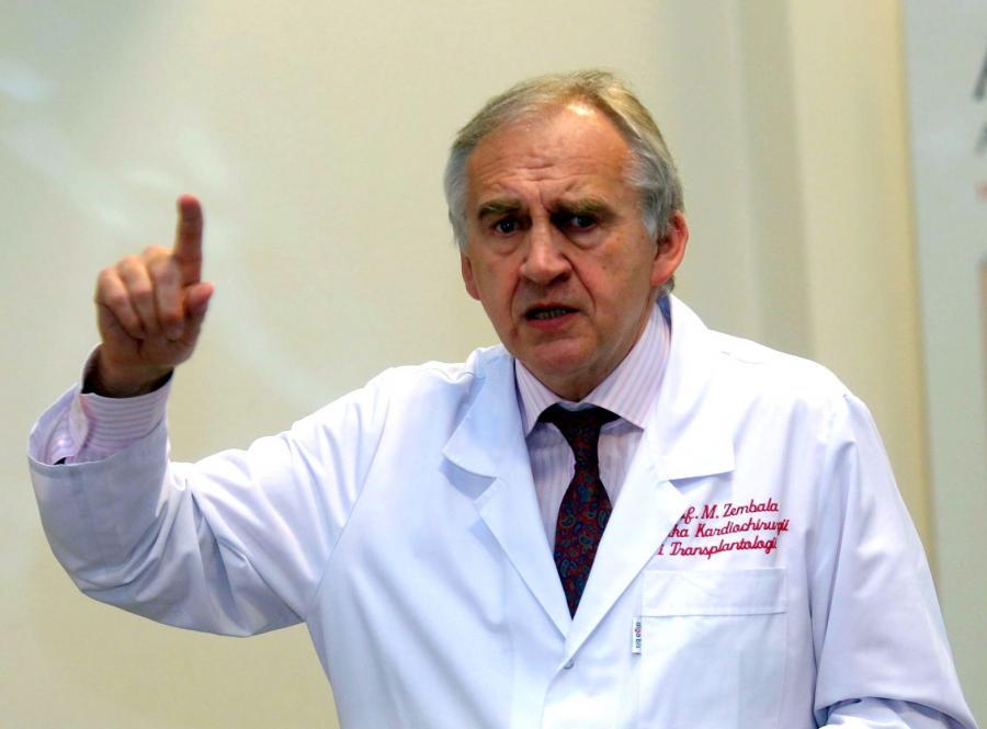 Prof. Marian Zembala, szef resortu zdrowia