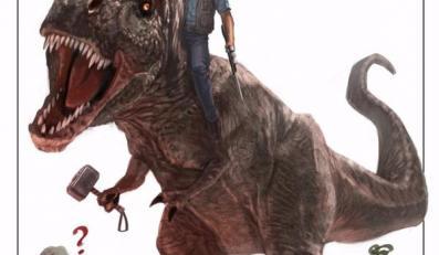 "Marvel gratuluje twórcom ""Jurassic World"""