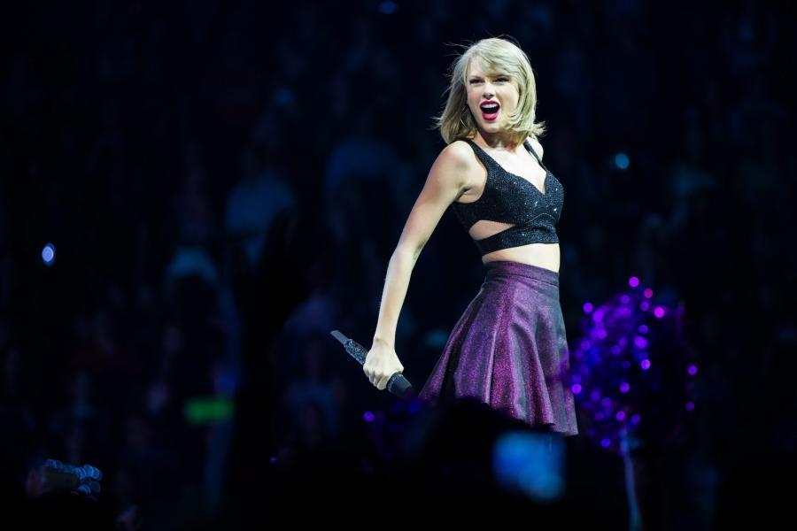Taylor Swift bardziej przyjazna fotografom