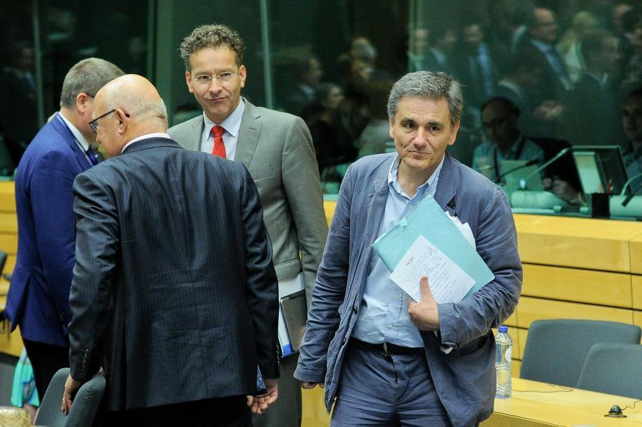 Spotkanie ministrów eurogrupy