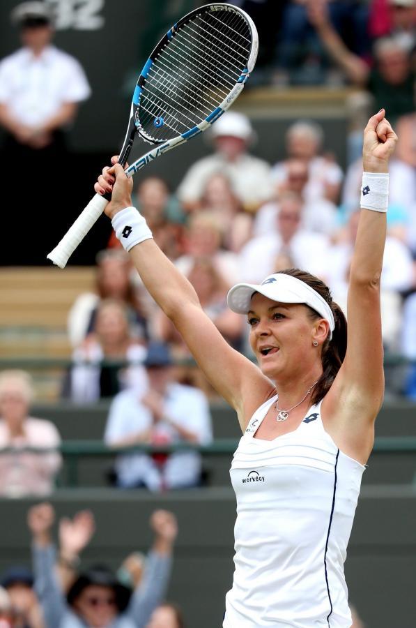 Agnieszka Radwańska wraca na szczyt. Polka podbija Wimbledon