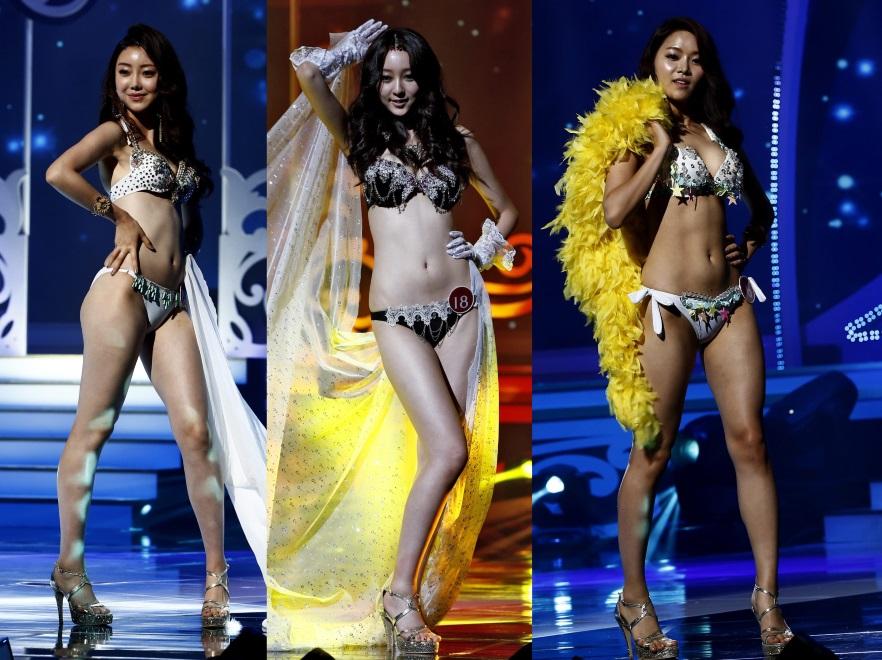 Uczestniczki konkursu Miss Korea 2015