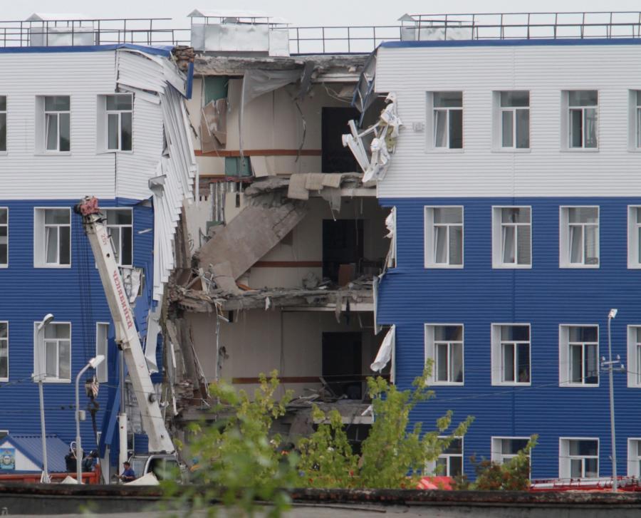 Katastrofa budowlana w Omsku