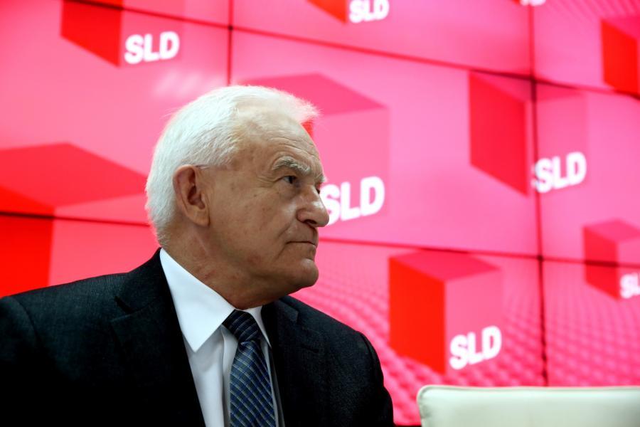 Szef SLD Leszek Miller