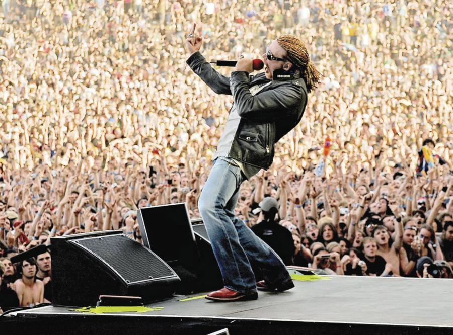 Guns N\'Roses wrócili