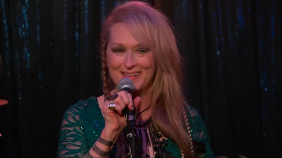 Rock\'n\'rollowa Meryl Streep śpiewa Lady Gagę