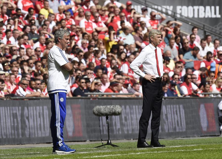 Jose Mourinho i Arsene Wenger