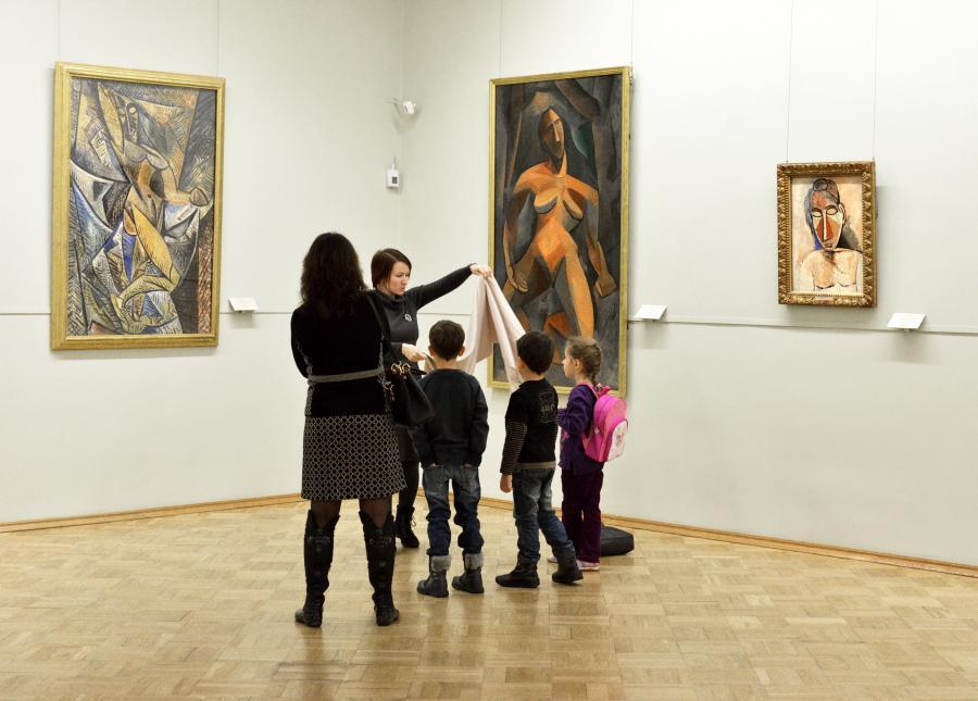 Wystawa obrazów Picassa