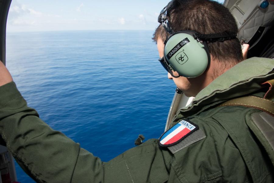 Poszukiwania szczatków samolotu MH370