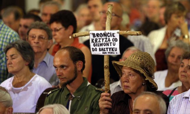 Marsz Pamięci w Warszawie. Obchody miesięcznicy katastrofy smoleńskiej
