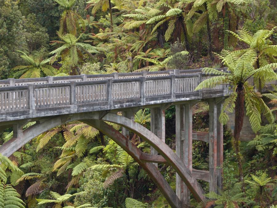 Most Donikąd, Nowa Zelandia