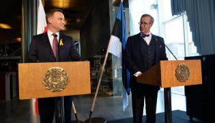 Prezydent RP Andrzej Duda i prezydent Estonii Toomas Hendrik Ilves