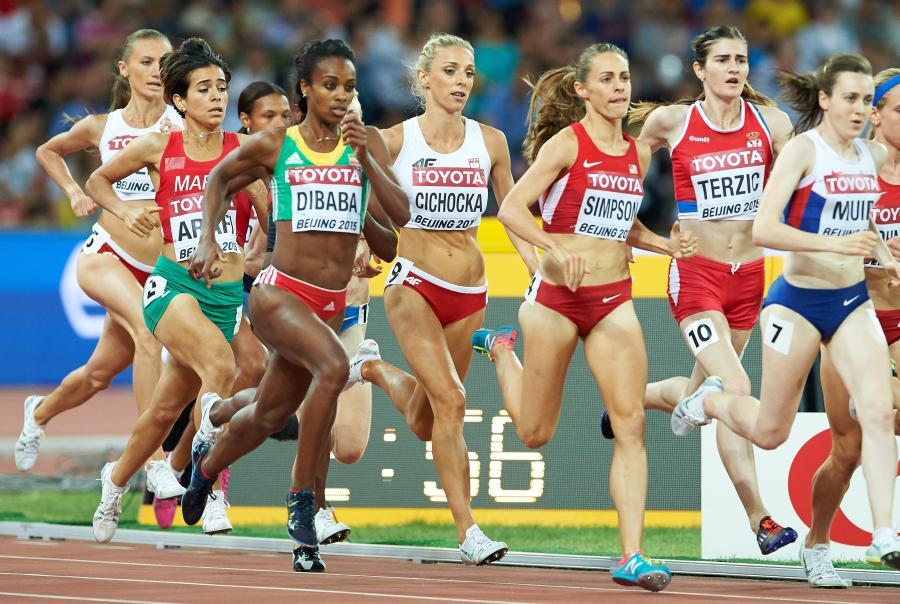 Angelika Cichocka (w środku)