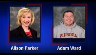 Alison Parker i Adam Ward