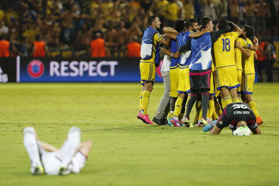 Radość Maccabi, rozpacz Basel