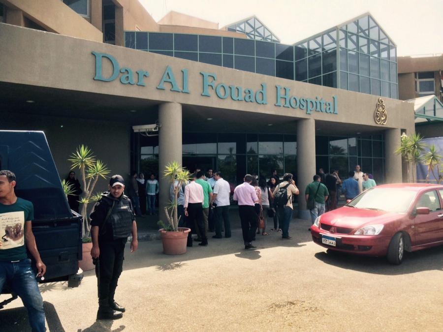 Szpital do którego trafili ranni turyści