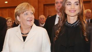 Rania al-Abd Allah i Angela Merkel