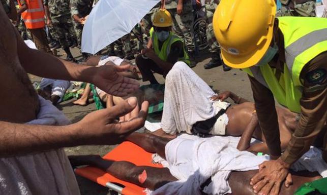 Kilkaset osób stratowanych na śmierć. Tragedia na pielgrzymce do Mekki. ZDJĘCIA i WIDEO