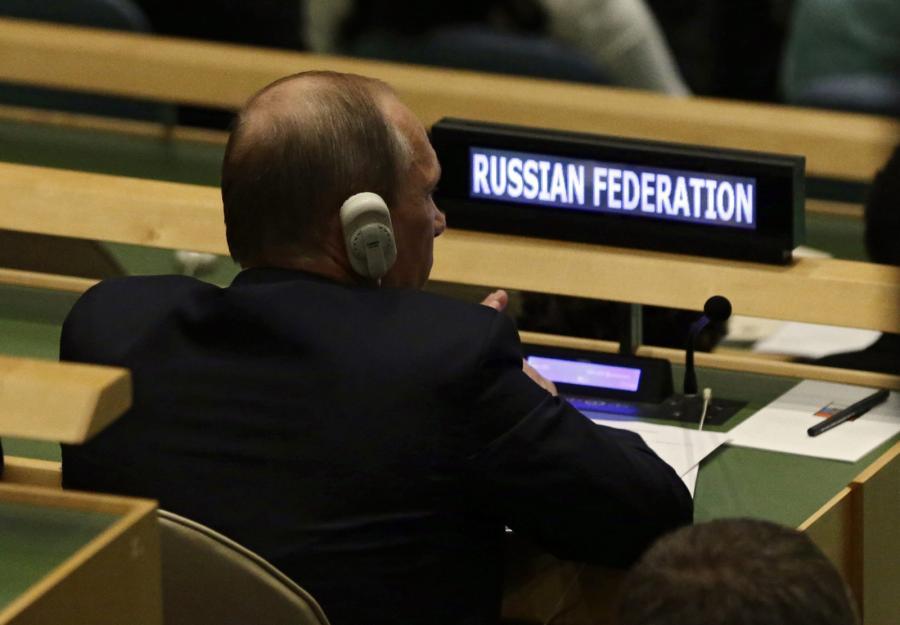 Władimir Putin na forum ONZ
