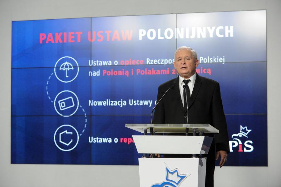 Jarosław Kaczyński w kwestii repatriacji zarzucił rządowi \