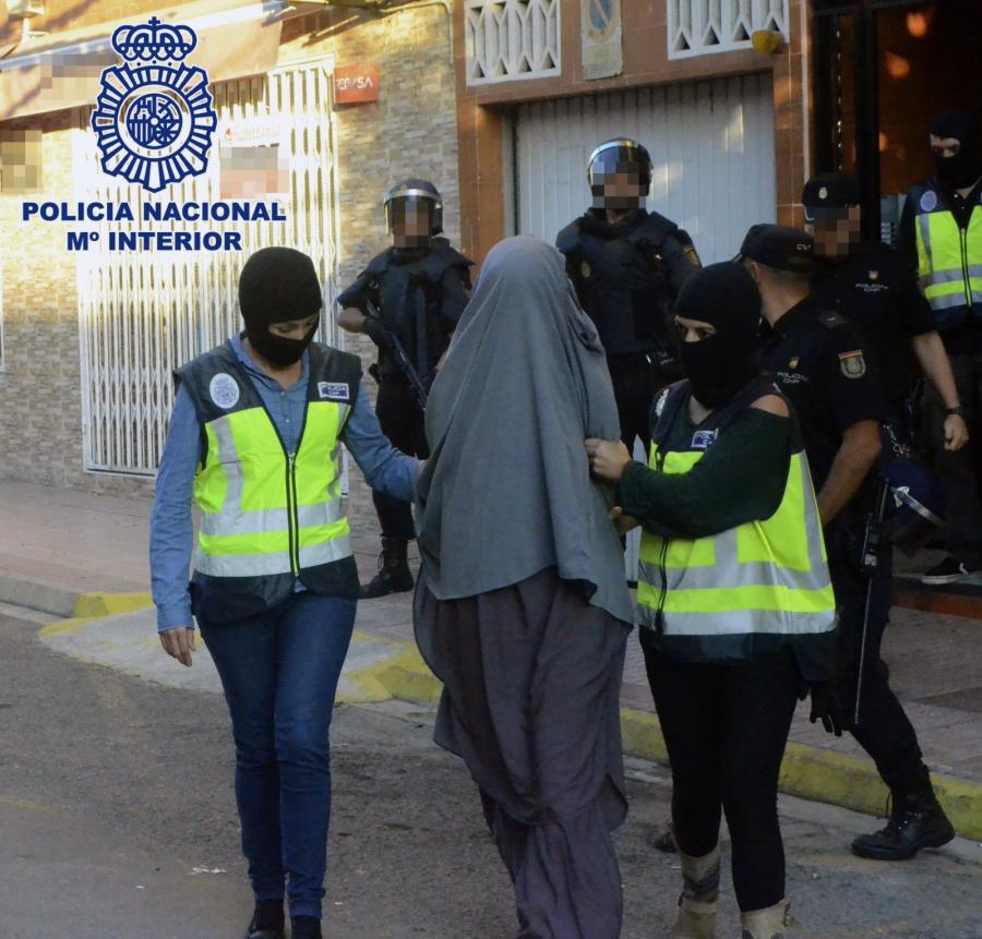 Zatrzymania dżihadystów w Hiszpanii