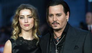 """Johnny Depp i Amber Heard na premierze filmu """"Pakt z diabłem"""""""